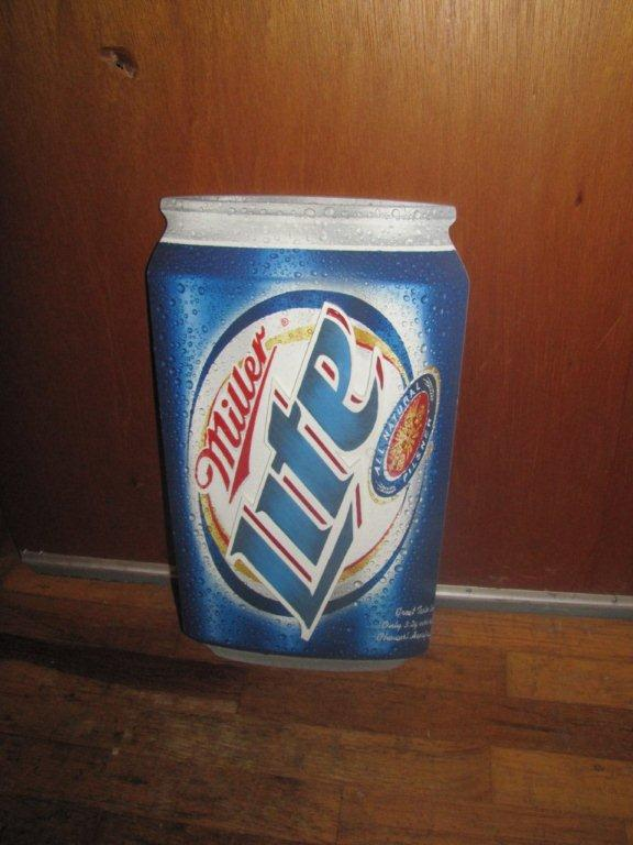 miller sale lite beer sign rayanne garage removed call text please phone number email br