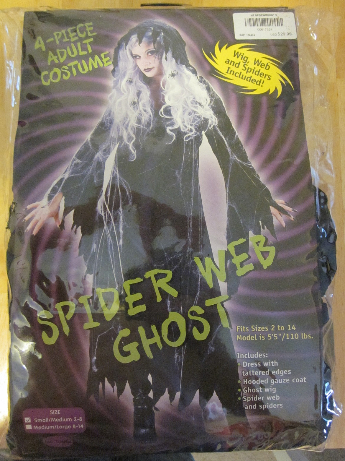 Spider Web Ghost Costume