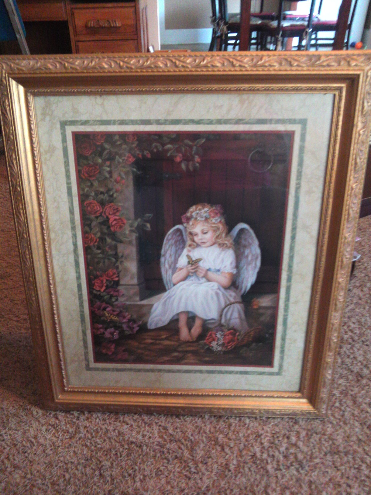 Home Interior Angel Portrait In Arey 39 S Garage Sale