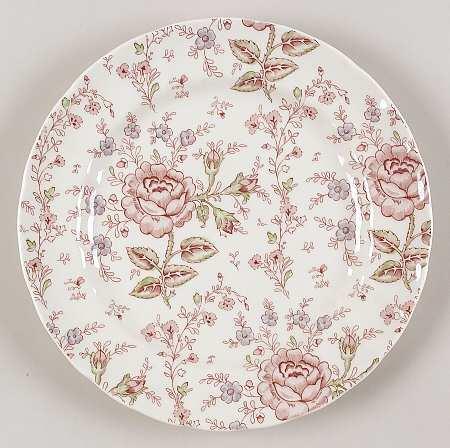rose chintz by johnson bros china