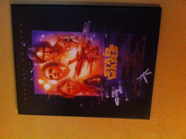 framed star wars