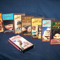 VHS benny hill
