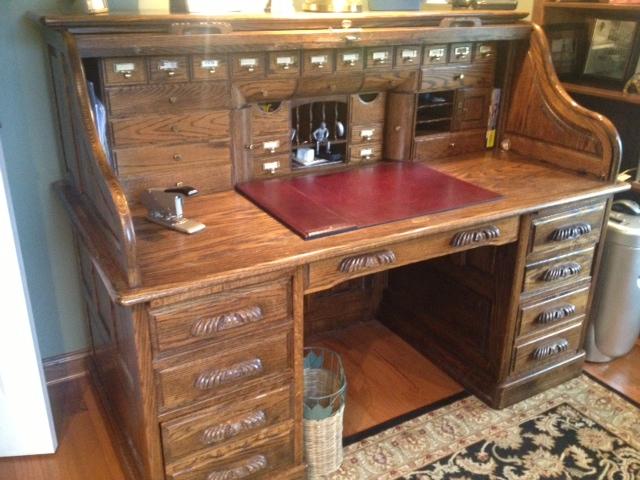 Roll Top Desk In Tegrookie1944 S Garage Sale Peoria Il