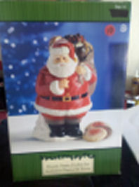 Classic Santa Cookie Jar