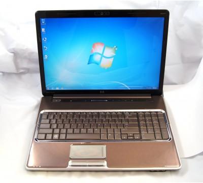 "HP PAVILION DV7 1245dx 17\"" LAPTOP AMD RM-70 2.0GHz CPU 4GB RAM 16"