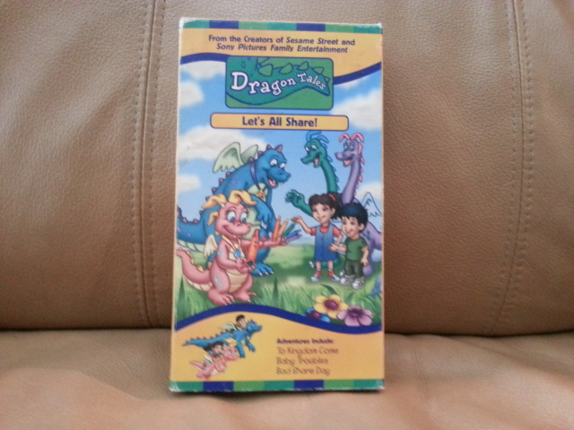VHS Dragon Tales, Let\'s all Share