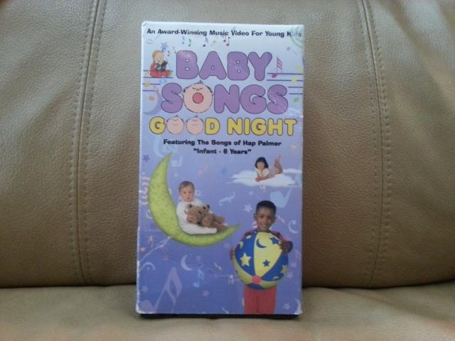 VHS Baby Songs Good Night