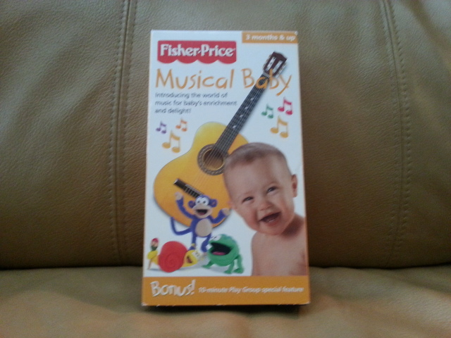 VHS Fisher Price Musical Baby