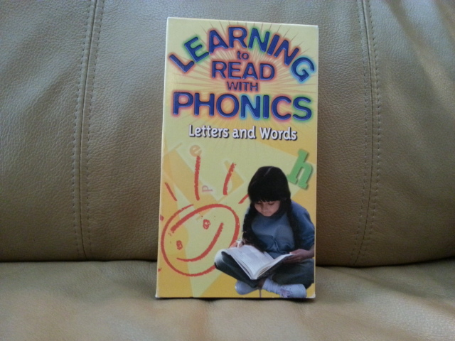 VHS Learning to Read with Phonics