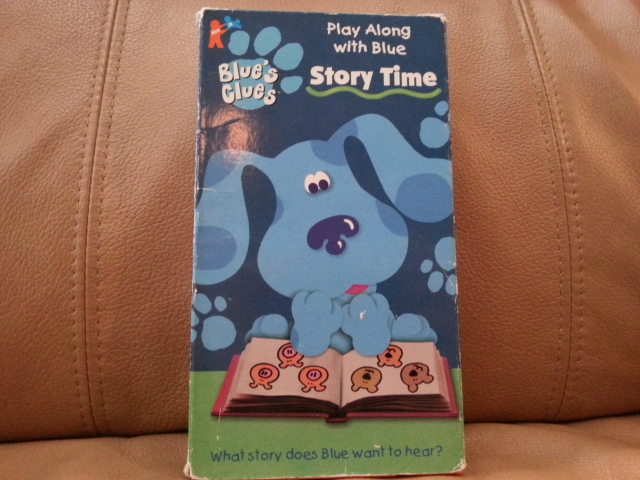 VHS Blue\'s Clues Story Time