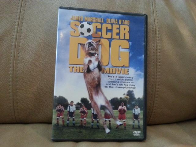 DVD Soccer Dog, The movie