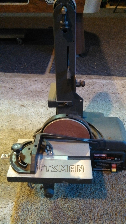 """Craftsman 4 x 36 - 6\"""" Disk/Belt Sander"""