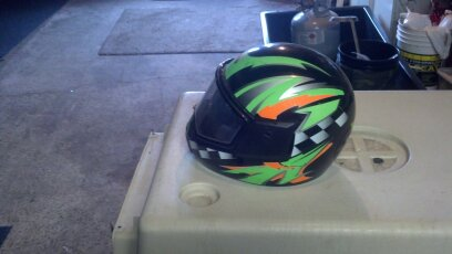 Cold Wave Snowmobile Helmet