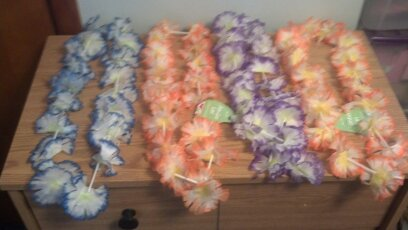Set of 4 Lei\'s