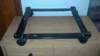 Filing Cabinet Stand with Caters