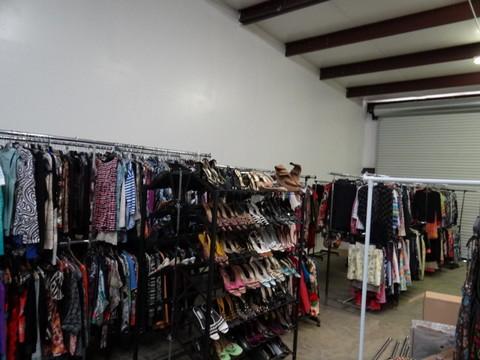 huge ebay inventory full of designer clothes