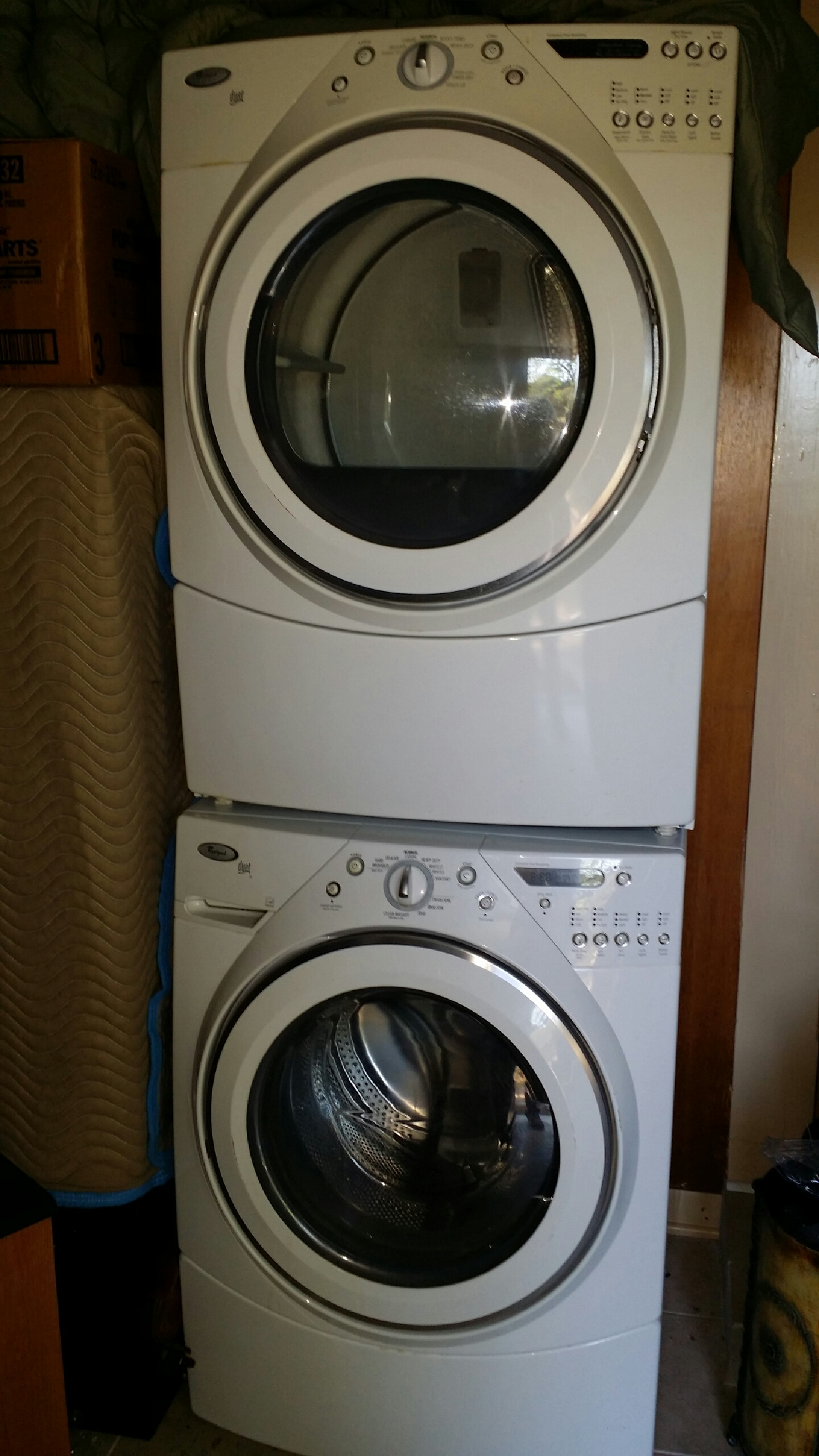 Whirlpool duet washer dryer set in simms 39 garage sale kerrville tx - Whirlpool duet washer and dryer ...