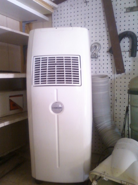 Portable Garage With Room : Amcor portable room airconditioner in hyatts garage sale
