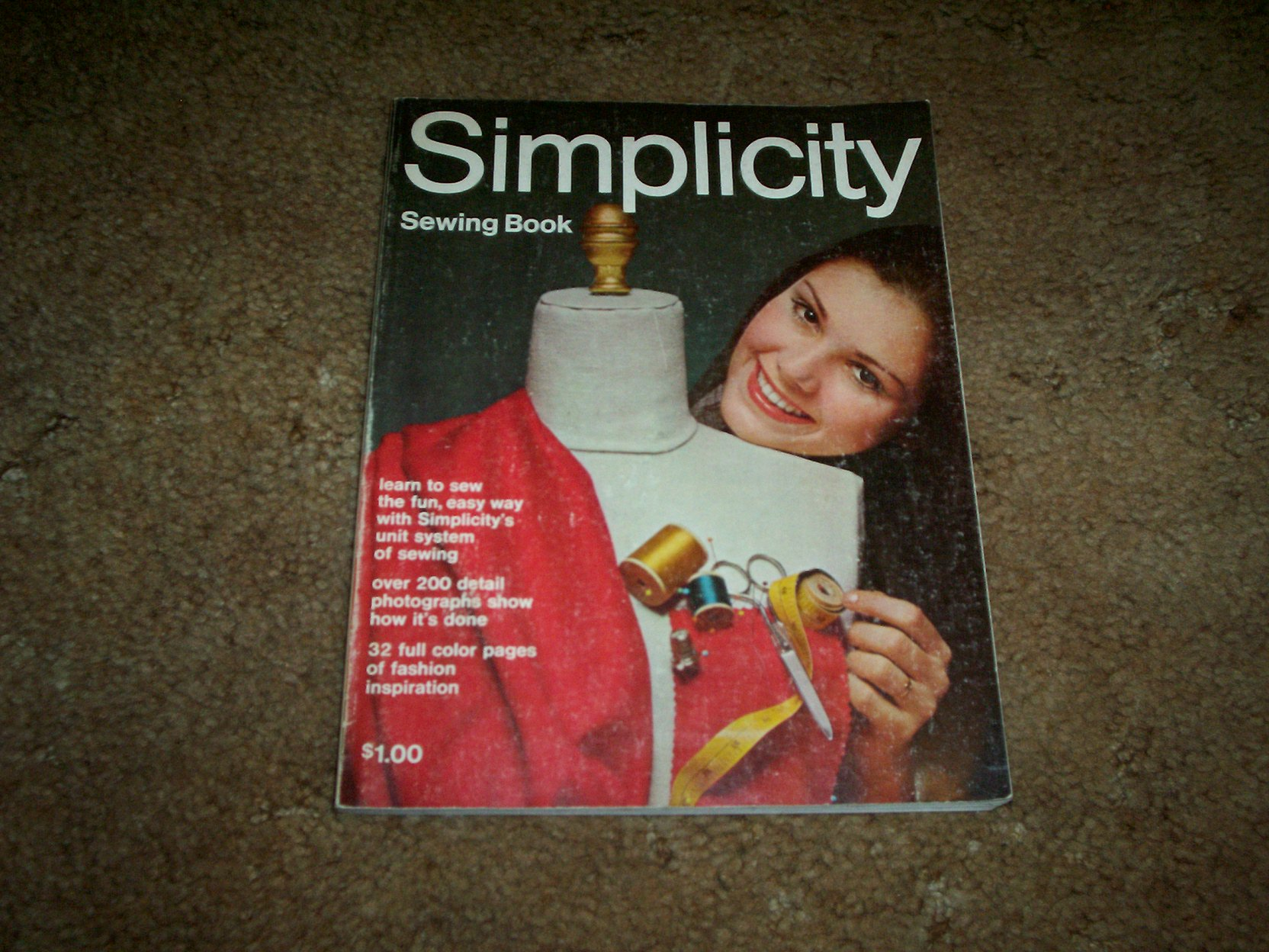 1969 Simplicity Sewing book