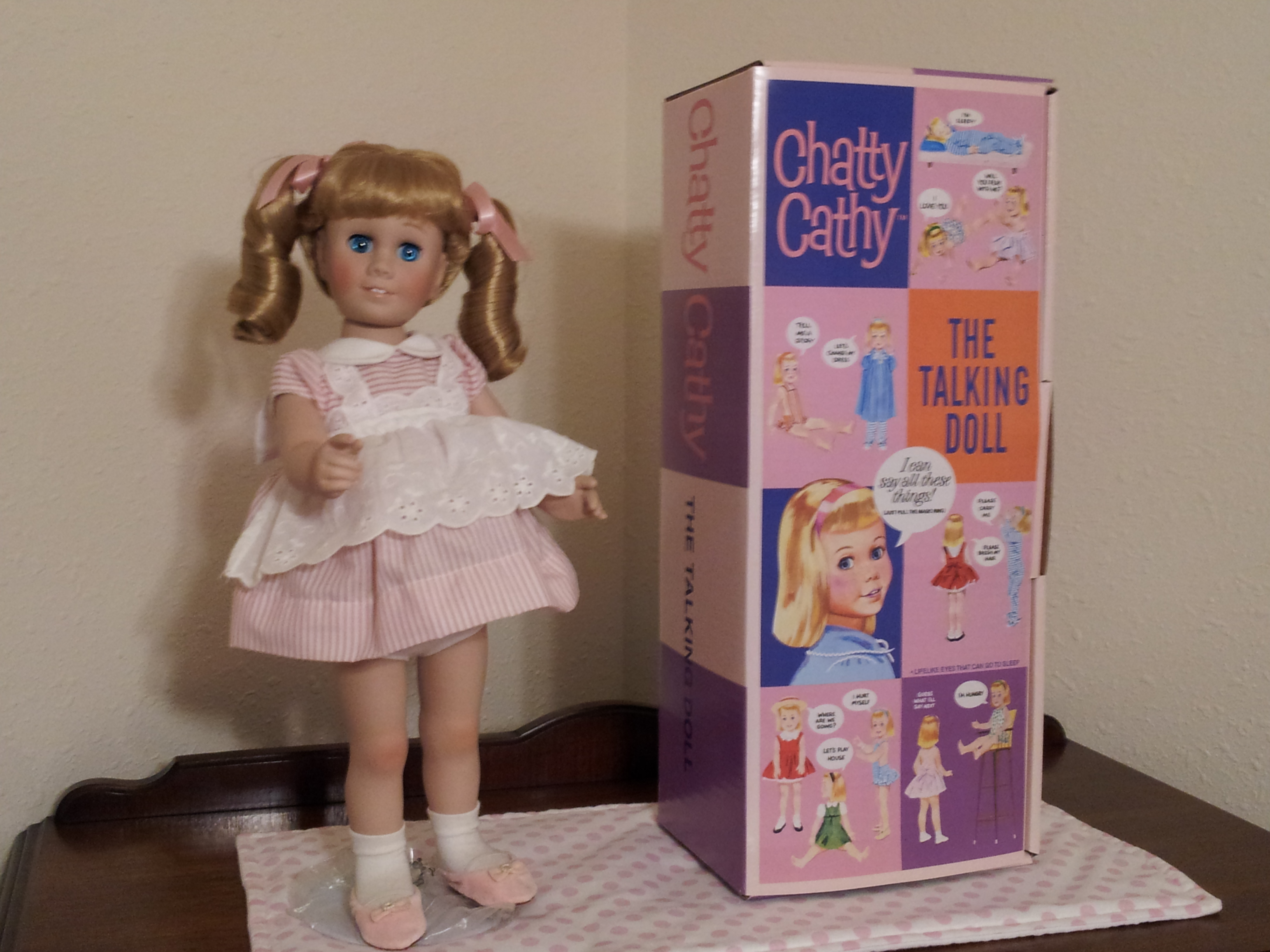 Chatty Cathy Danbury Mint Collector Doll