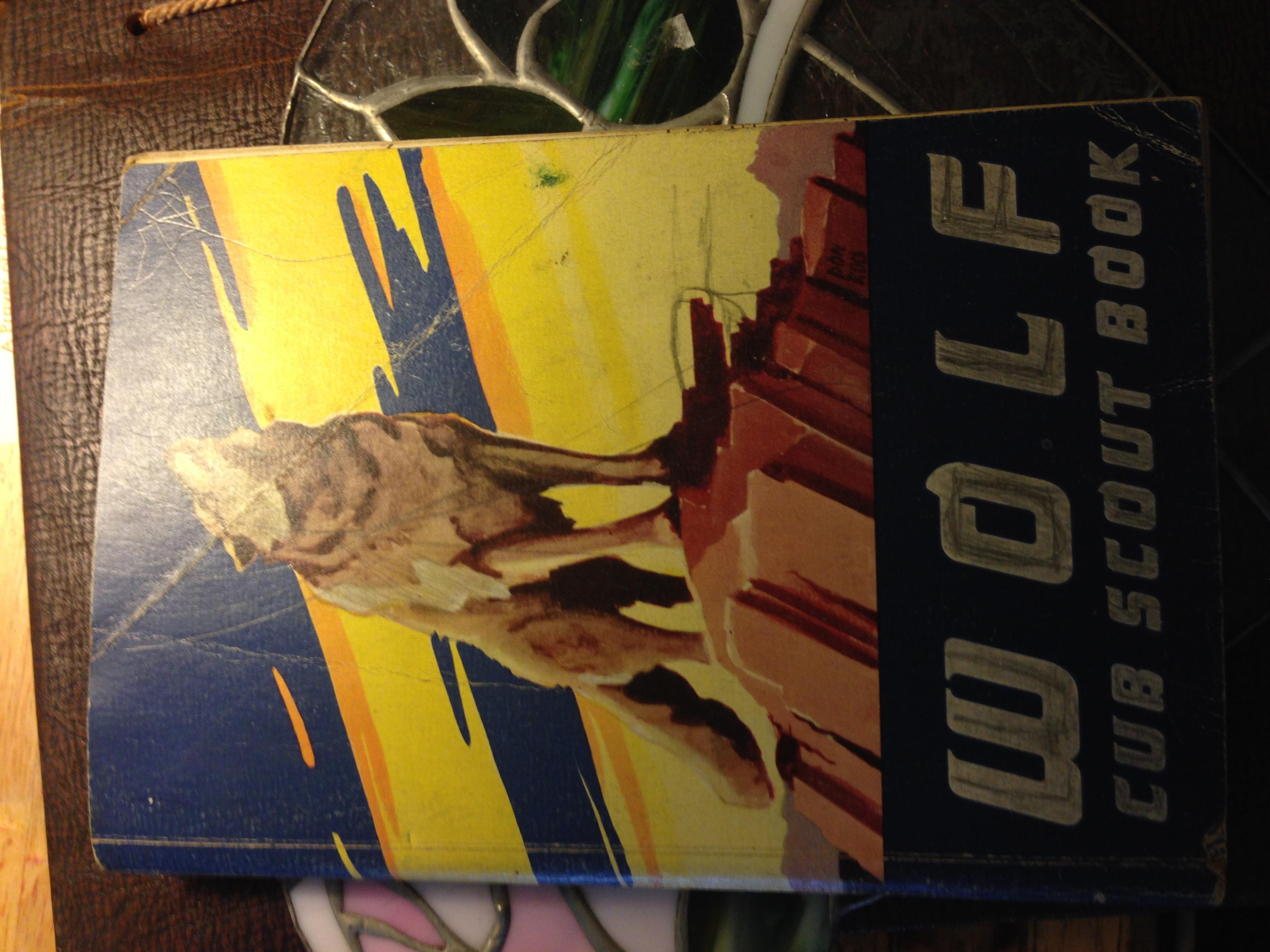 WOLF CUB SCOUT BOOK 1963