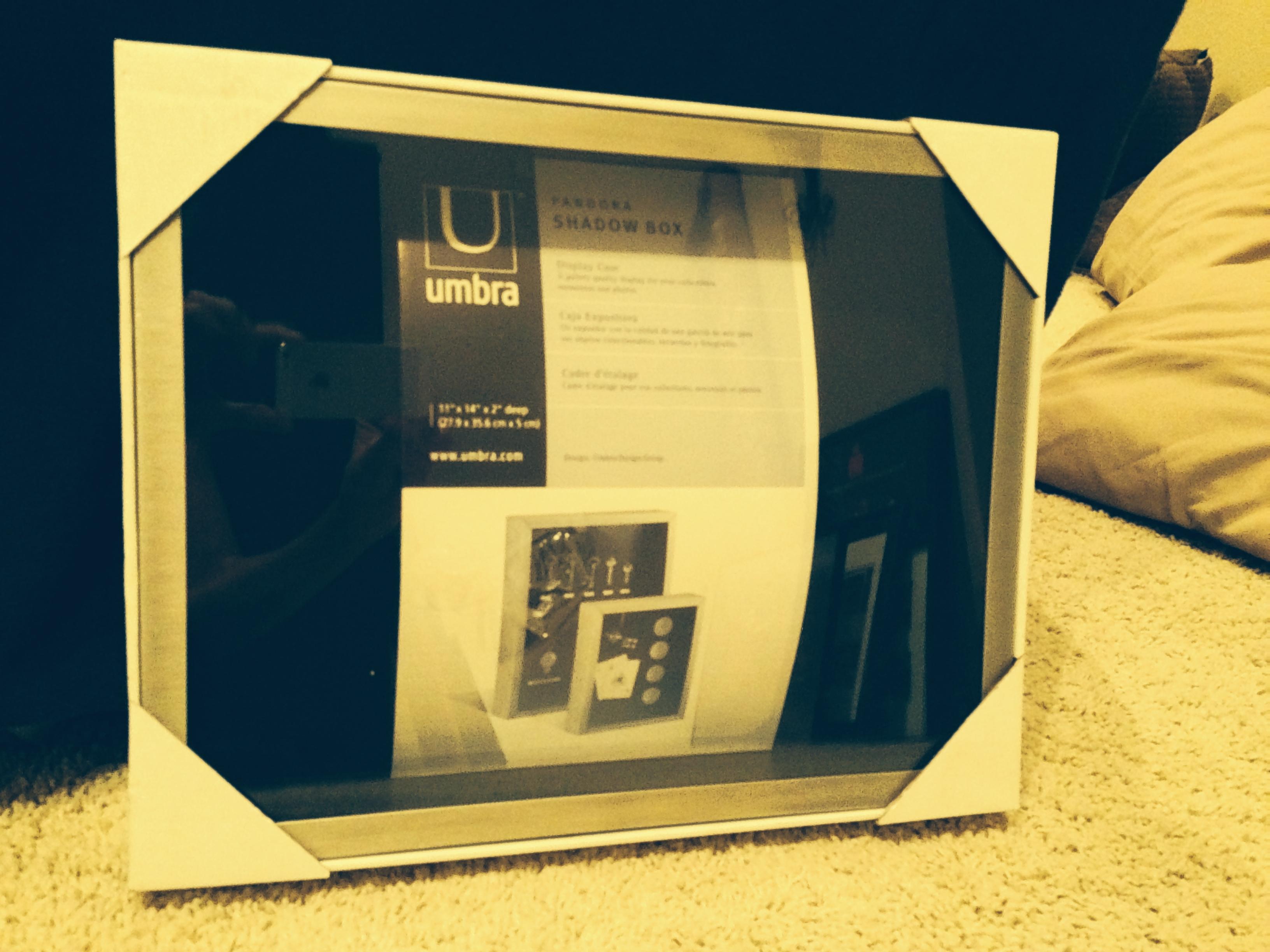 Umbra Nickel Pandora Shadow Box (11 x 14)