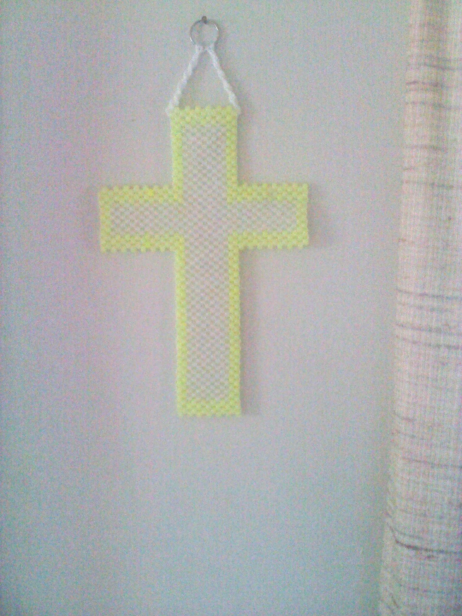 glow-in-the-dark cross