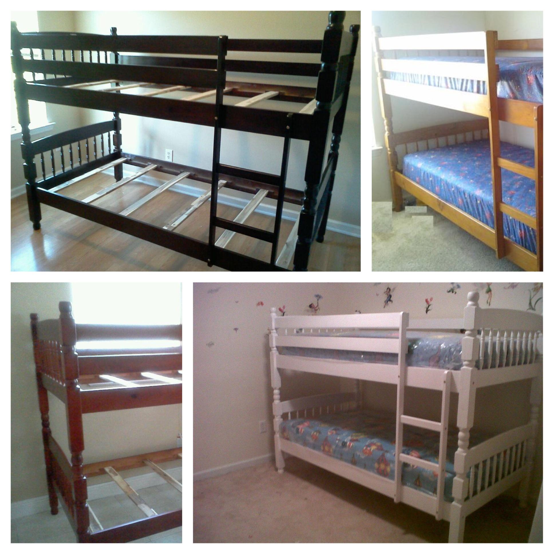 bunk bed set cappuccino