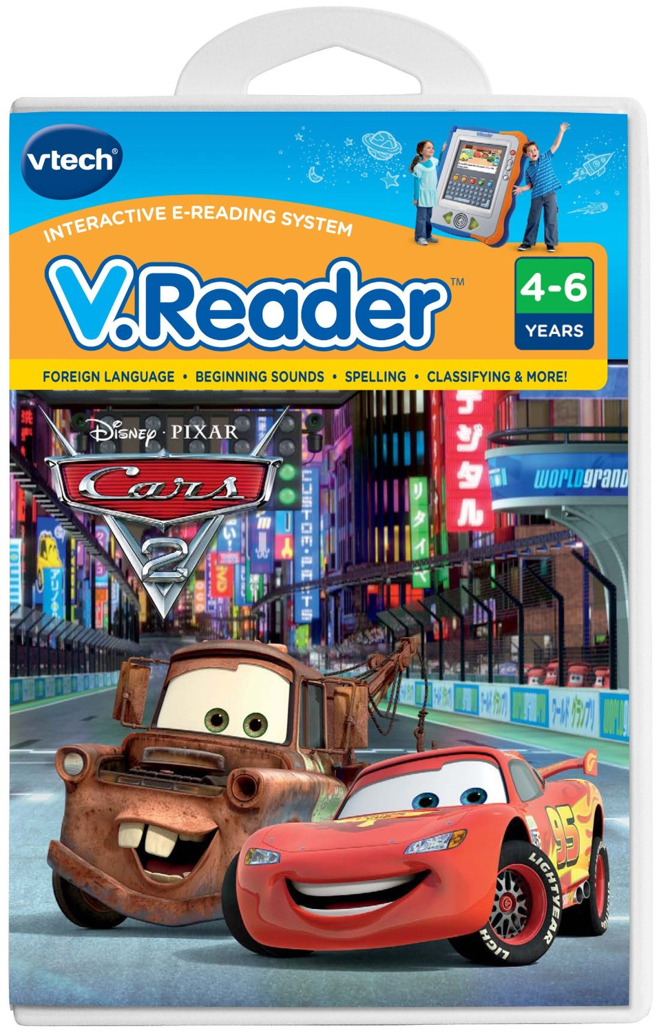 VTech - V.Reader Software - Disney\'s Cars - Cars 2 by VTech