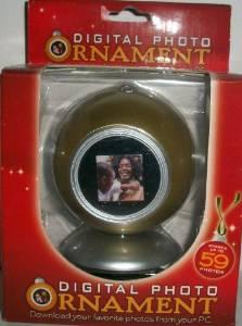 digital photo frame ornament