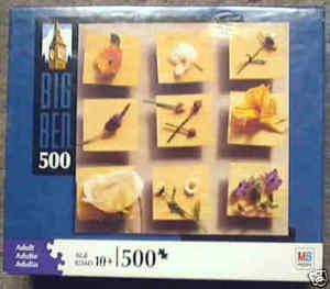 Big Ben 500 Piece Puzzle - Edible Flower Petals