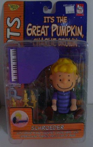 It\'s The Great Pumpkin Charlie Brown Schroeder Action figure