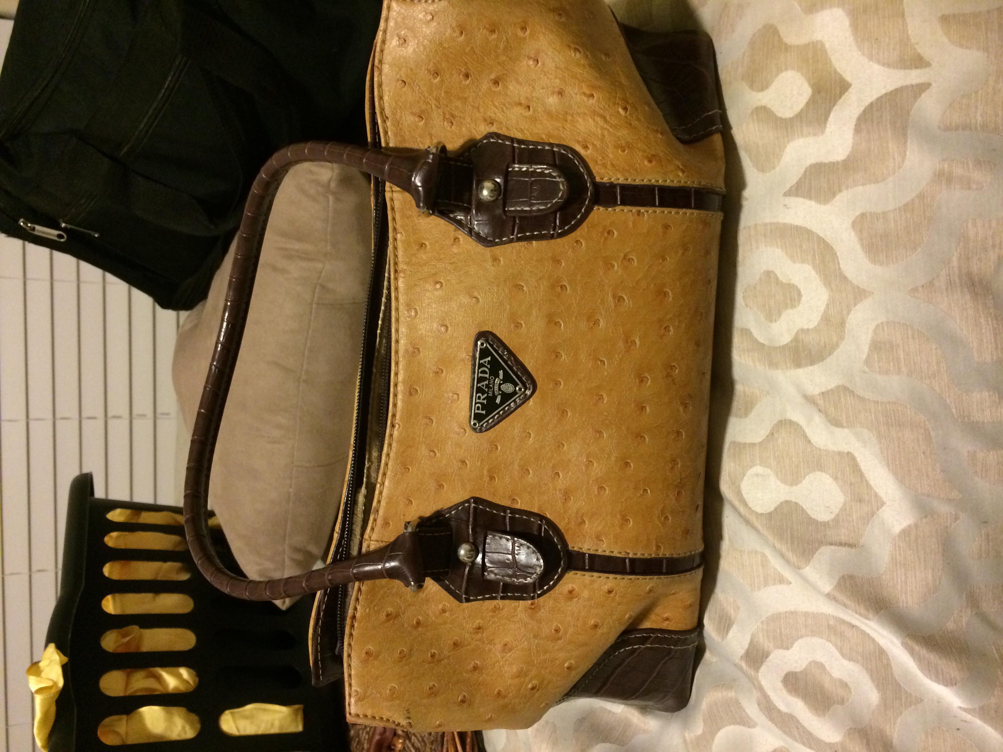 Prada Milano leather 100% authentic