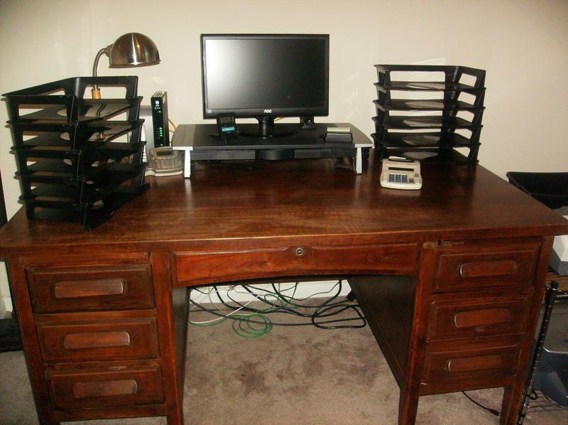 Antique Desk In Canyongate 39 S Garage Sale Richmond Tx