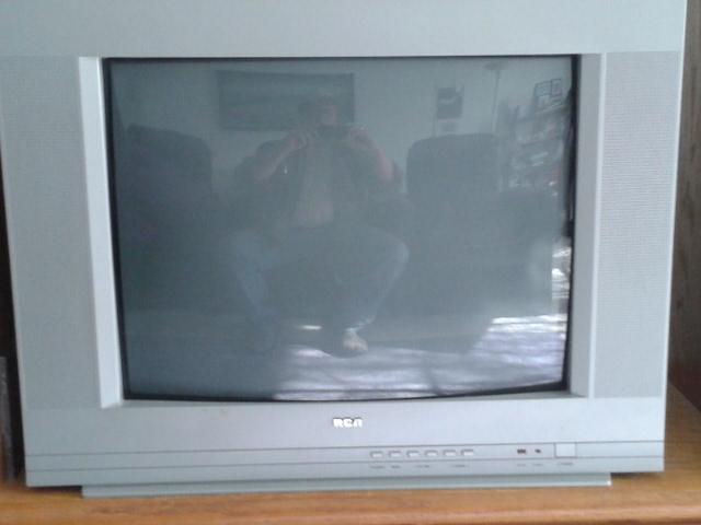 "20"" RCA COLOR STEREO TELEVISION"