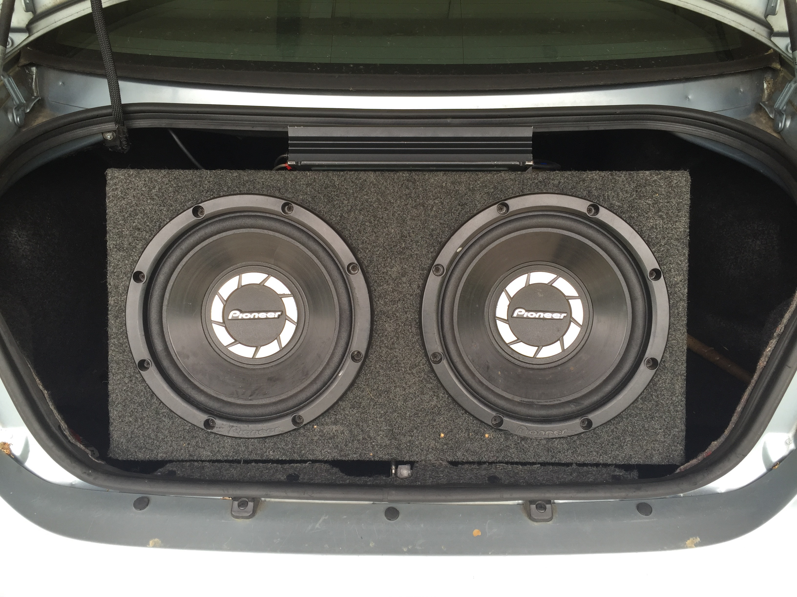 Car Audio - Sub/Amp Package