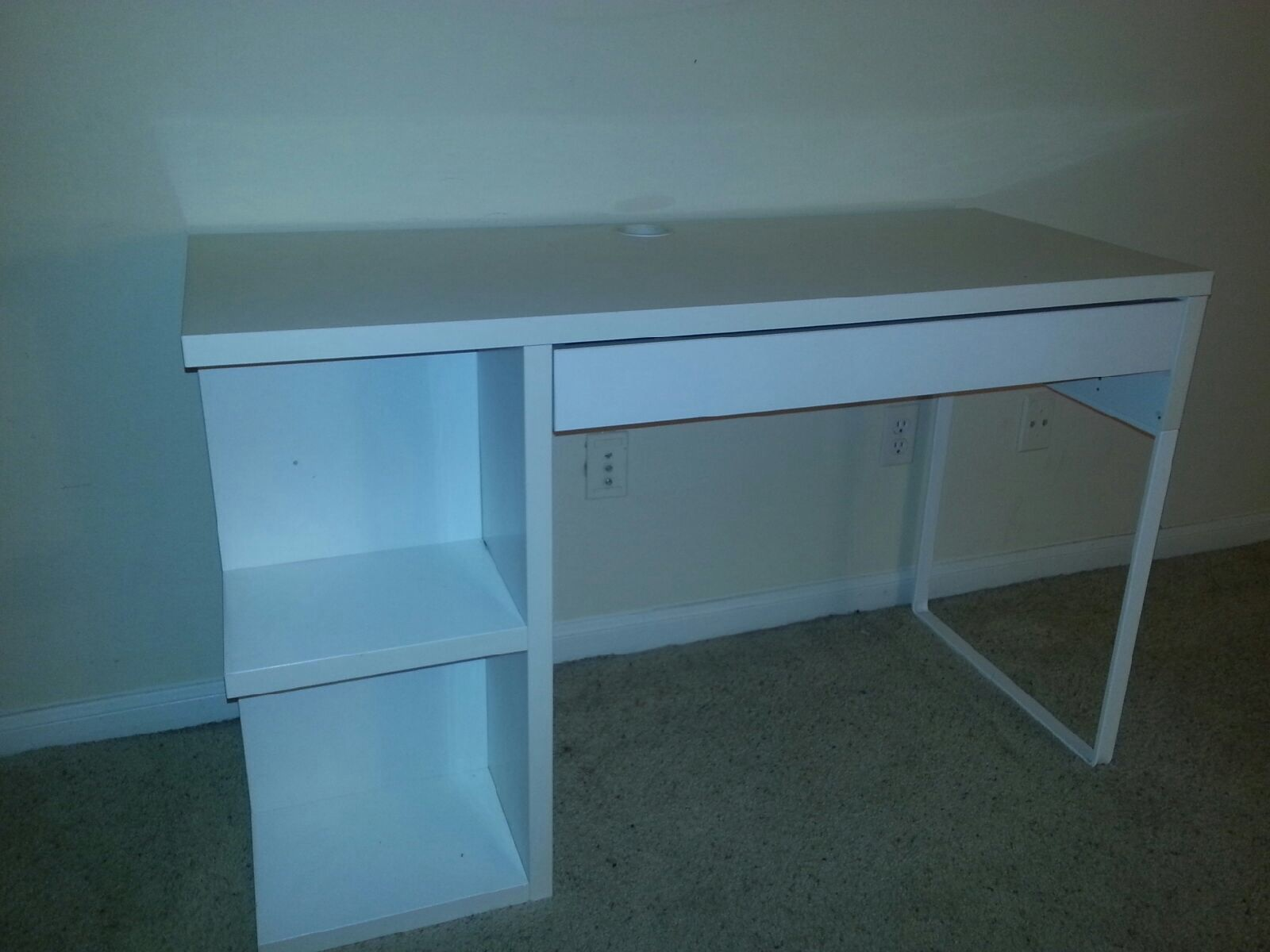 White Desk From Ikea