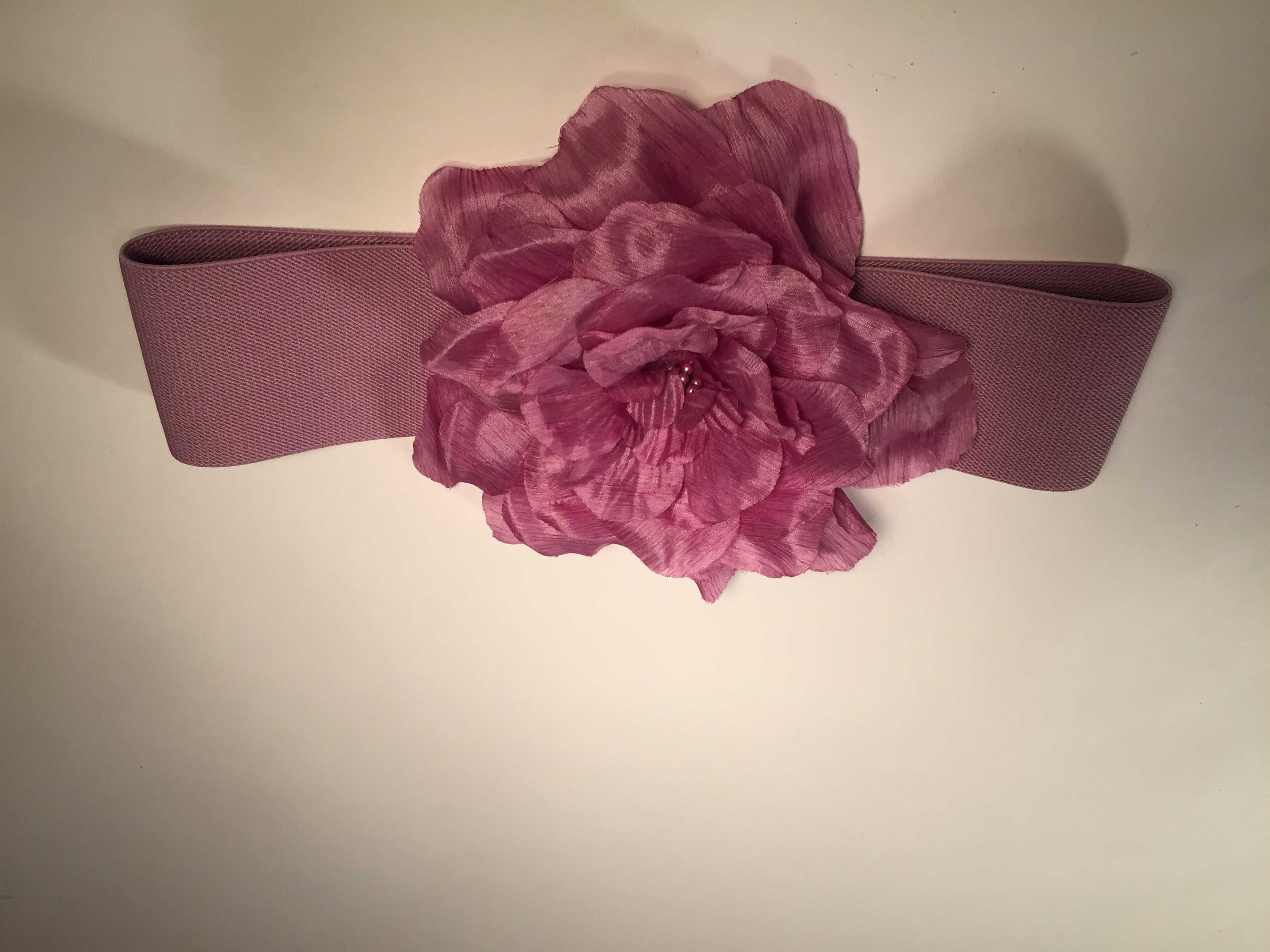 Lavishly Lavender Floral Belt