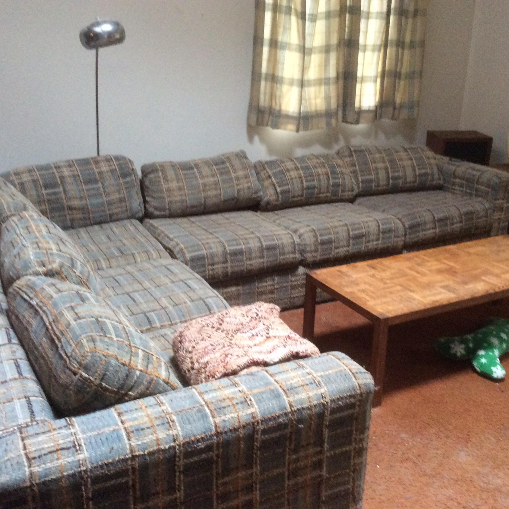 Sectional sleeper sofa