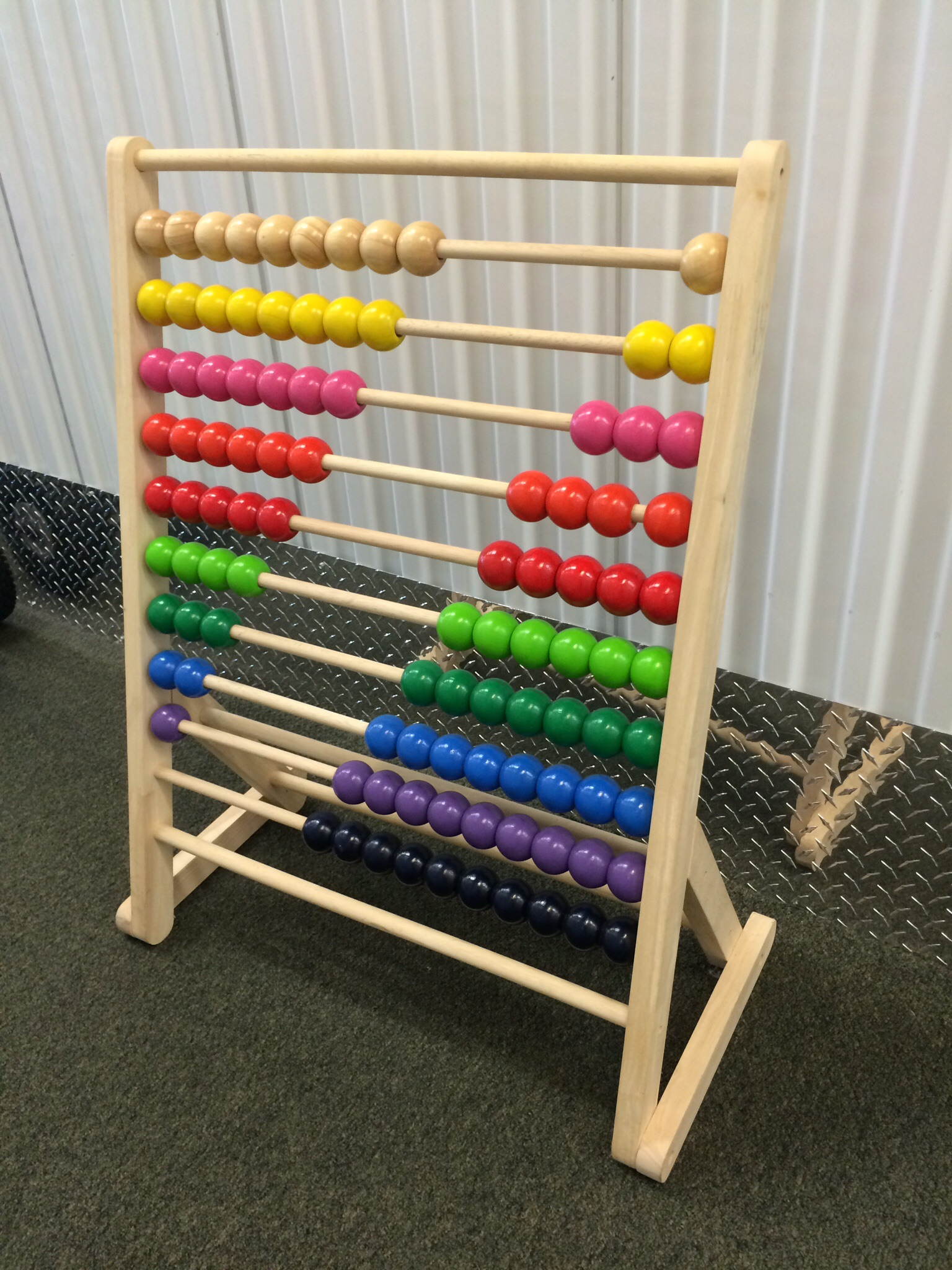 Abacus, All Wood