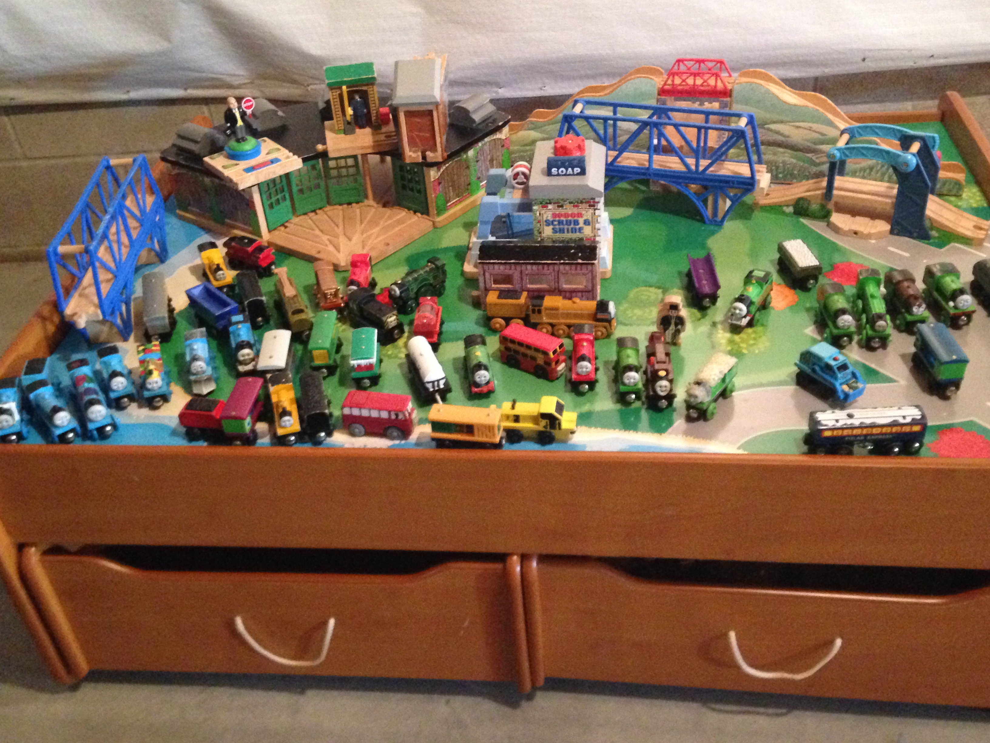 Thomas Train SETS and all tracks with table in jgrjj\'s Garage Sale ...