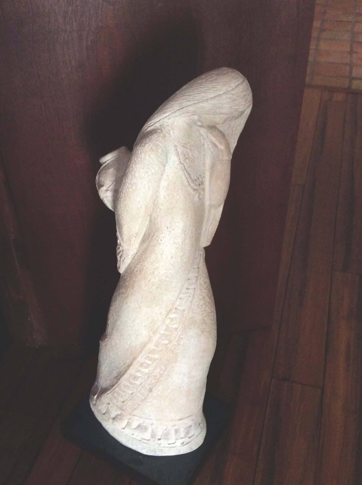 Signed Austin Stone Sculpture