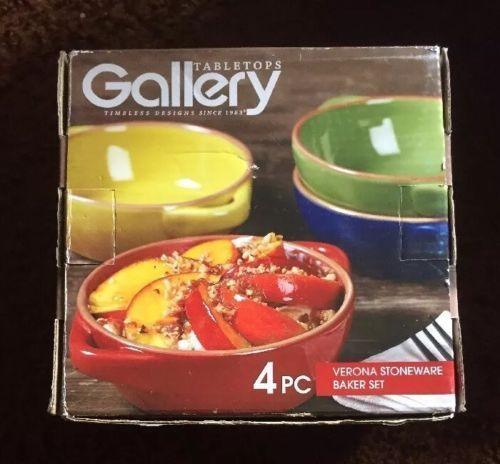 Gallery Verona Stoneware 4 pc