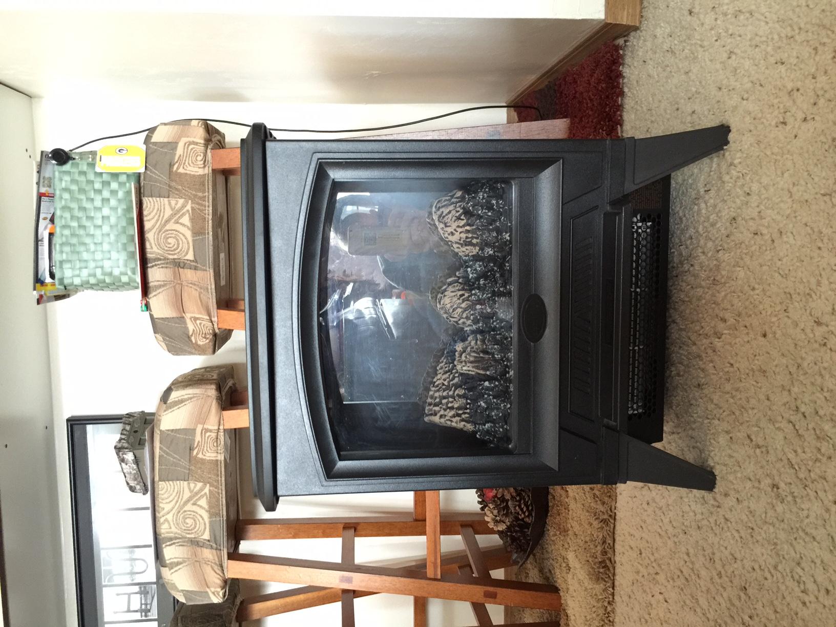 Heater & Fire Decor Stove