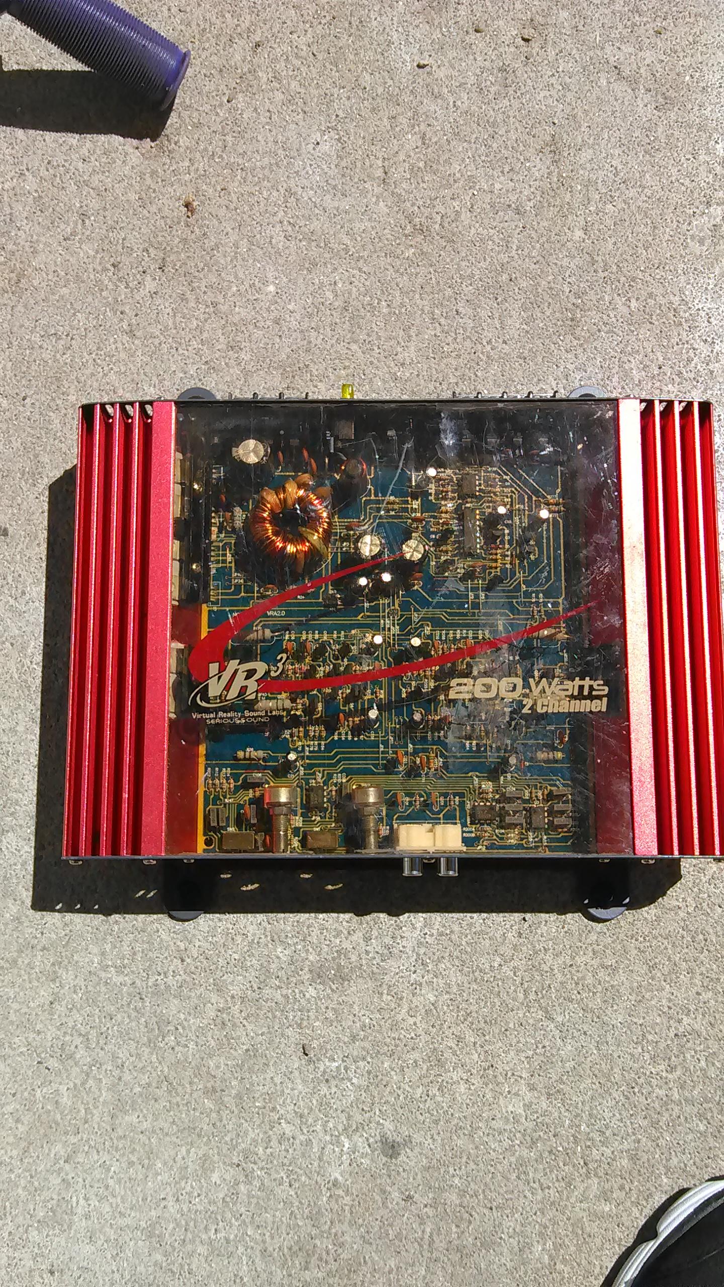200 watt amp