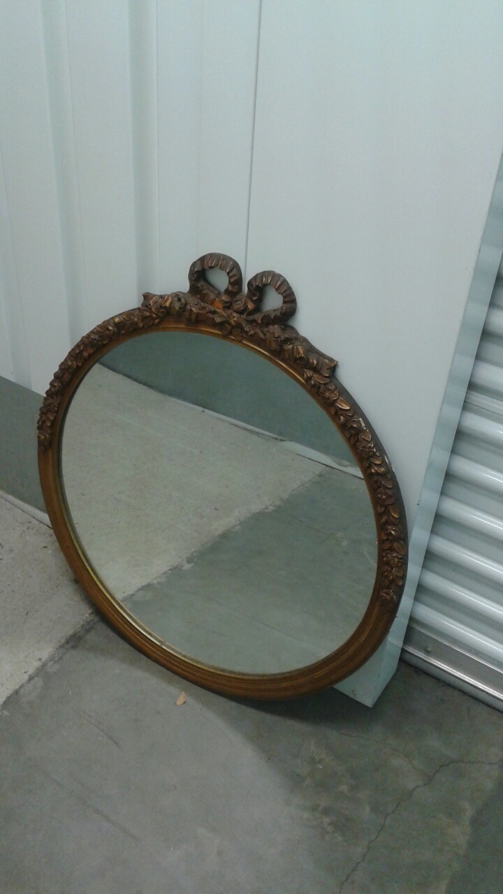 antiuqe Victorian Mirror