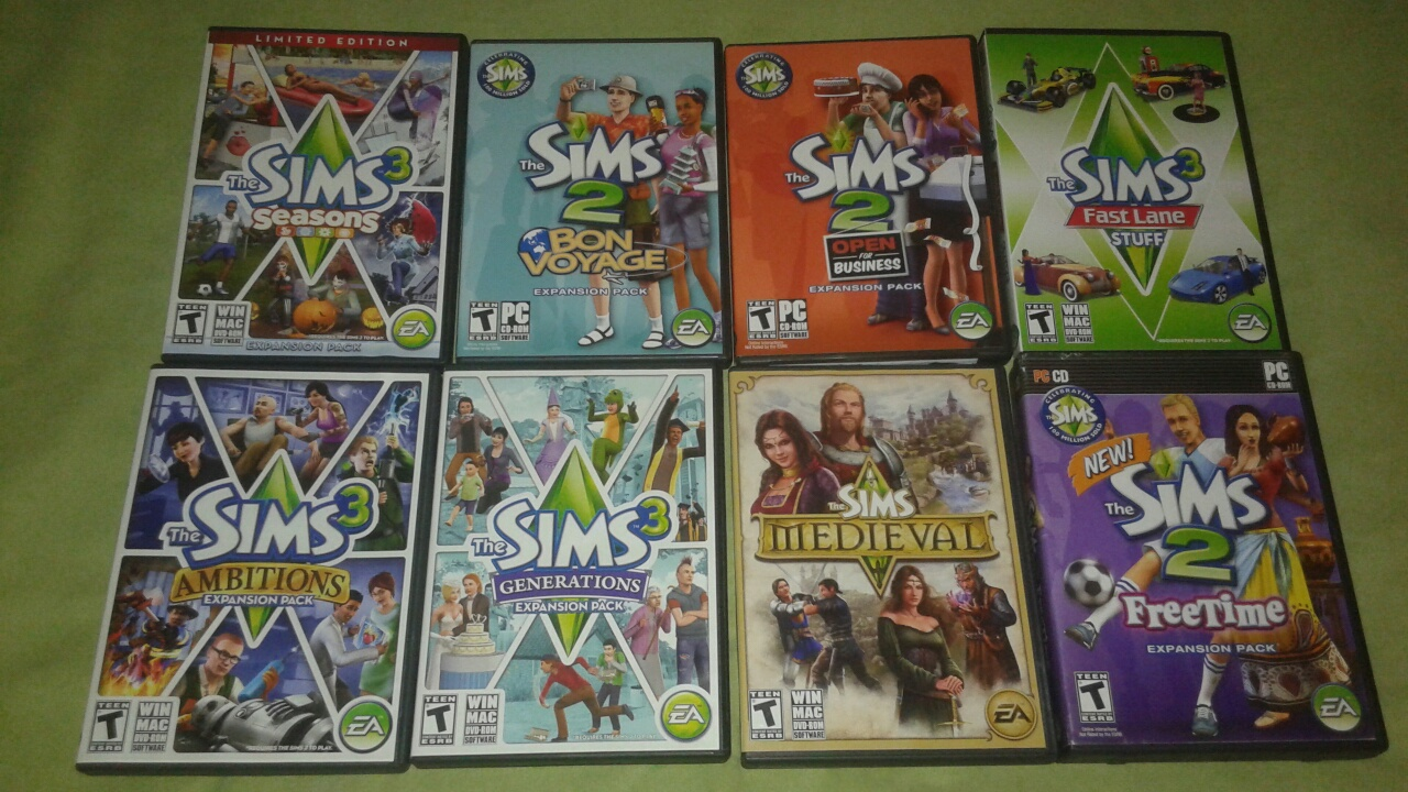 10 Sims games