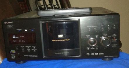Sony 400 disk DVD Changer