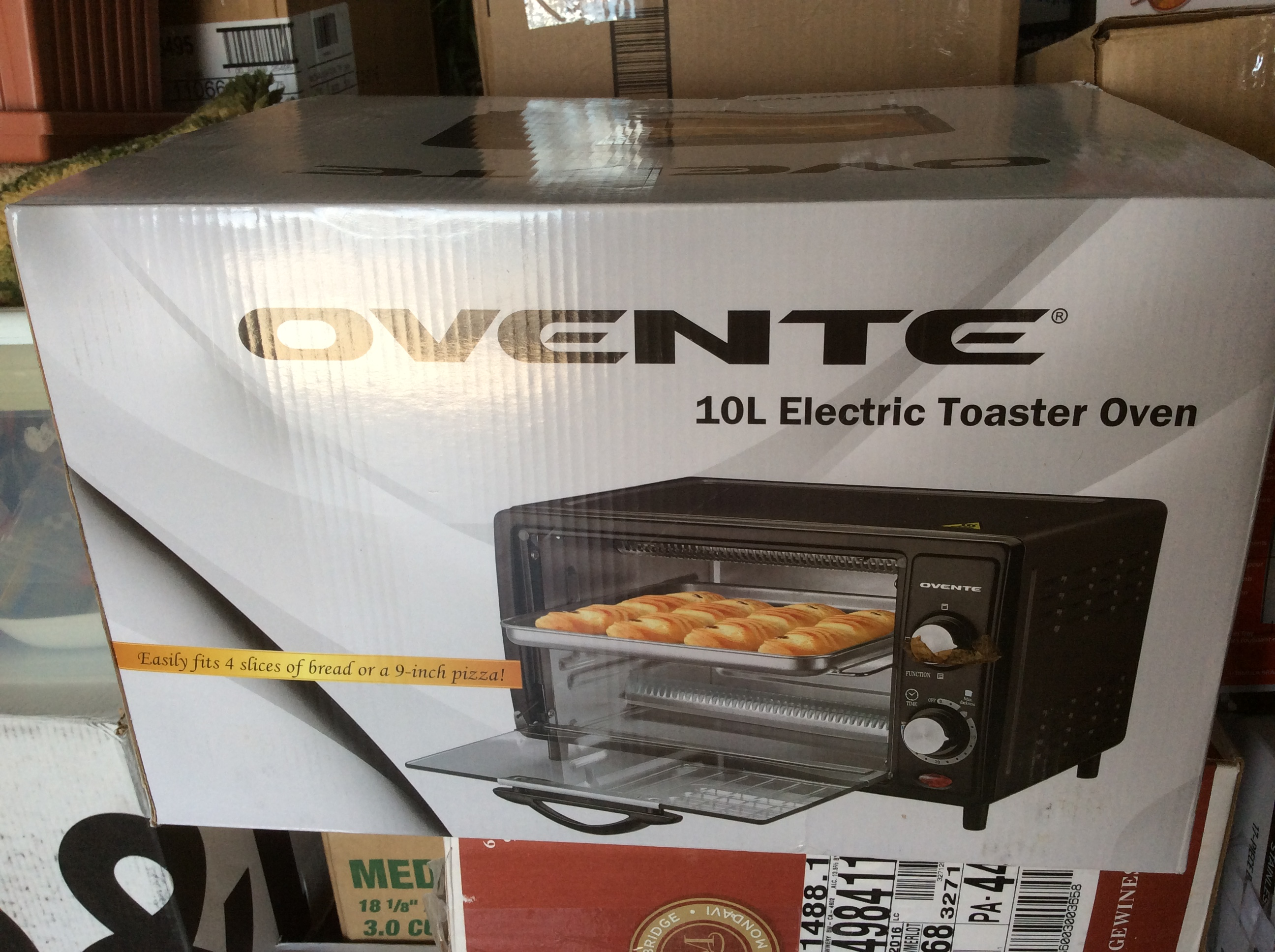 TOASTER OVEN --Ovente brand
