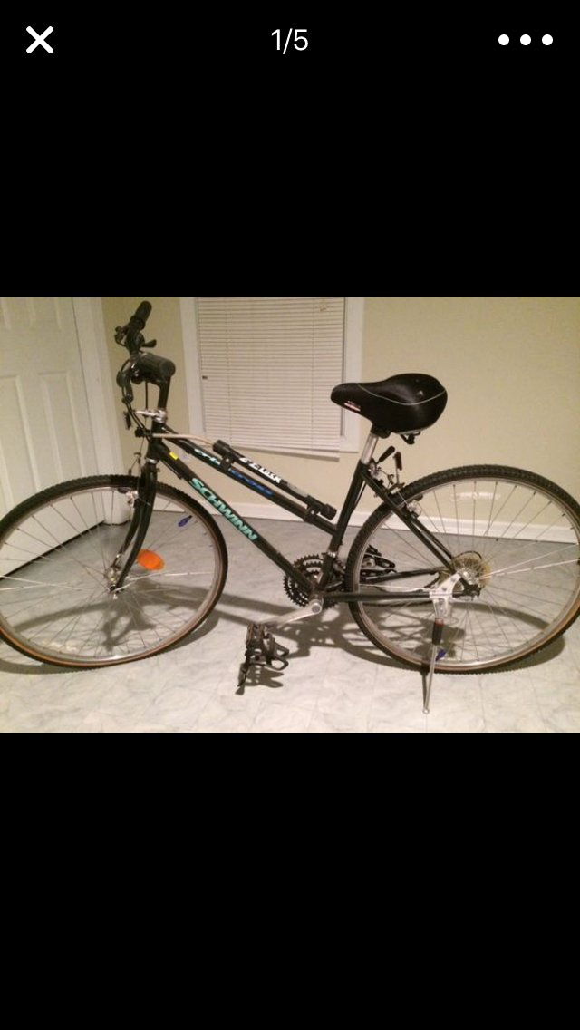 Ladies 21 Speed Schwinn CrissCross Mountain and Touring Bike